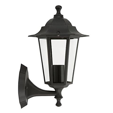 Outdoor Wall Light 60 W Black