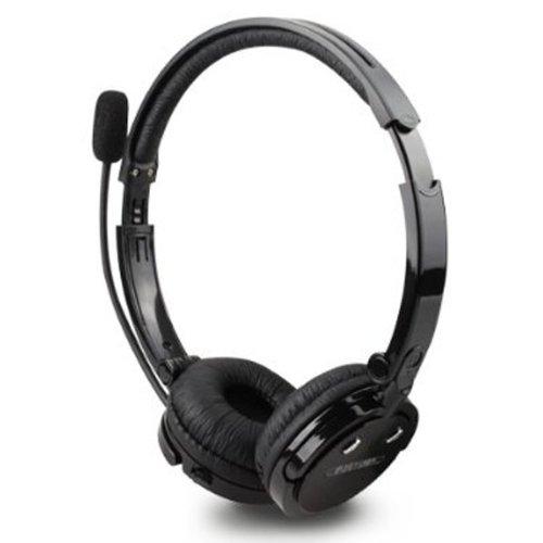 2in 1über den Kopf Boom-Mikrofon Mikrofon Stereo Bluetooth Headset Wireless Handsfree Kopfhörer nosie Abbrechen-bh-m20(schwarz) + kostenloser Versand - Boom Wireless Headset