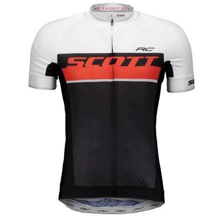 Scott RC Pro Fahrrad Trikot kurz schwarz/rot 2018: Größe: L (50/52) -