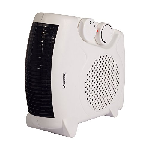 41LJ8hMZmnL. SS500  - Igenix IG9010 Flat/Upright Portable Electric Fan Heater with 2 Heat Settings and Cool Air Setting