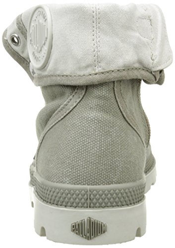 Palladium Bgy Zip Ii K, Baskets Hautes Mixte Enfant Vert (B80 Concrete/Silver Birch)