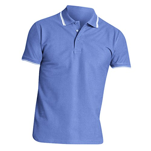 SOLS Herren Practice Pique Polo-Shirt, Kurzarm Marineblau/Weiß