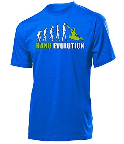 Kanu EVOLUTION 5907 Herren T-Shirt (H-B-Weiss-Grün) Gr. S