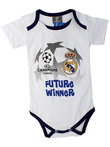 Unbekannt Real Madrid - Babysuit UEFA Champions League (18M)