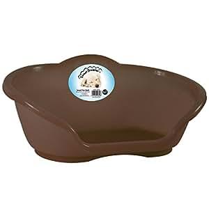 RSW Panier pour chien en plastique, Marron Taille L Livraison gratuite