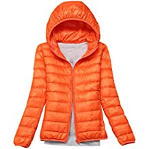 promo code b96d8 7f985 Grammi it Amazon Arancione Piumino Donna 100 BOWpx6I