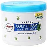 Ayur Herbal Cold Cream with Aloe Vera 80ml Pack of 4