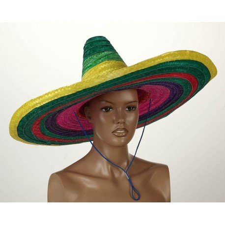 Atosa Gr/sombrero mexicano diám.58/ala 19cm