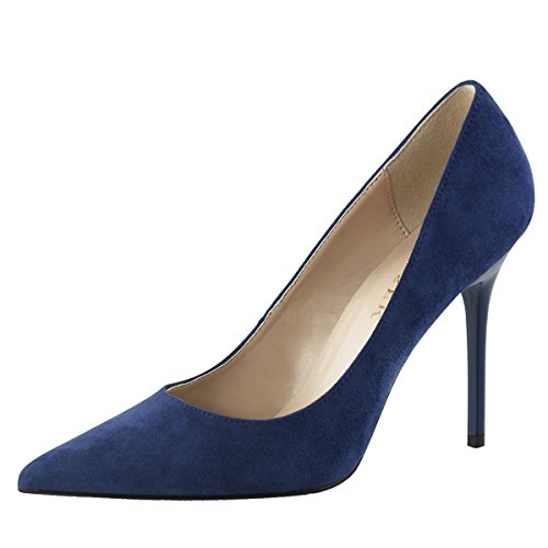 Stiletto Pumps, Damen, Blau (blau) Blau (Blau)