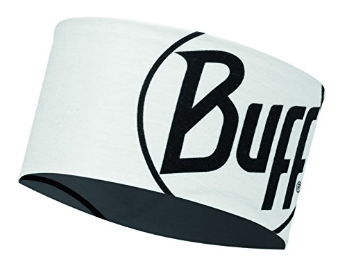 original buff headband buff® logo blanco - headband buff para unisex, color multicolor,  adulto