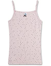 Sanetta muchachas camisa de la tapa allover mangas undershirt 140-176 - Rosa