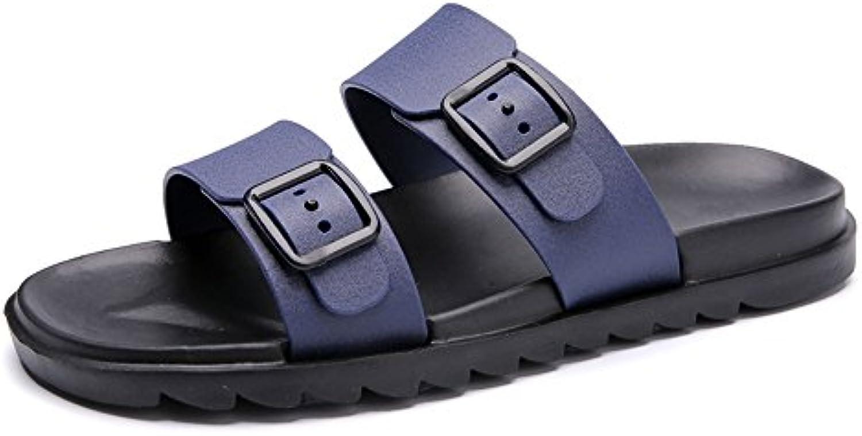GSHE Shoes Sandalias De Verano Para Hombre Zapatillas Holgazanes Transpirable Ocio Sandalias De Deslizamiento