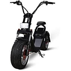 Scooter Eléctrico Chopper 1500W Citycoco