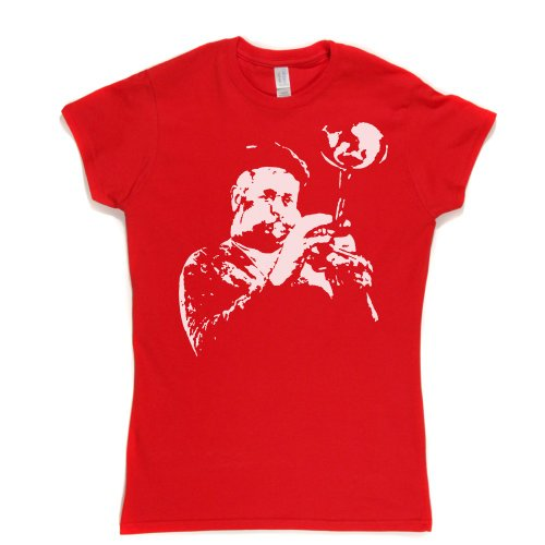 Dizzy Gillespie Womens Fitted T-Shirt Rot