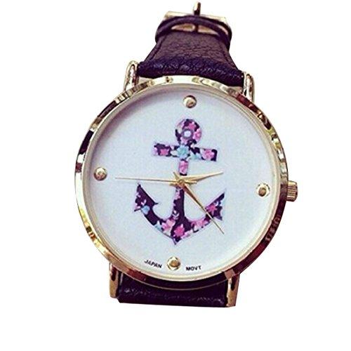 culaterr-femmes-vintage-fleur-montre-anchor-cuir-pu-quartz-noir
