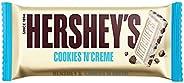 Hershey's Cookies n Crème Chocolate Bar, 40g (Pack o