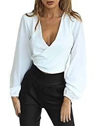 Amazon.fr   body femme - Chemisiers et blouses   T-shirts, tops et ... 1887fff40e0f