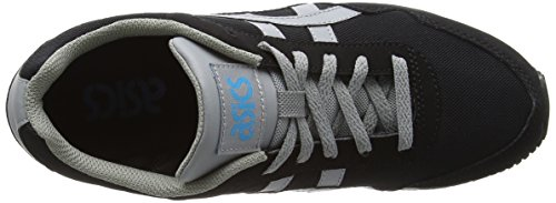 Asics Curreo Unisex-Erwachsene Sneaker Schwarz (black/mid Grey 9012)