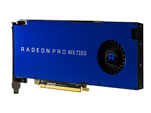 Carte Graphique AMD Radeon Pro WX 7100, 8192 MB GDDR5, 4X DP