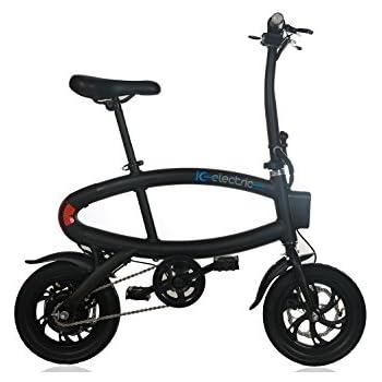 Q1 Youqi, Bicicleta eléctrica, Unisex adulto, Negro, Única