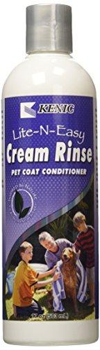 Kenic Pet Care Products 150-02510 Kenic Lite-N-Easy Creme Rinse 17 Unzen - Lite-creme