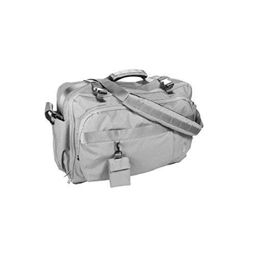 Mandarina Duck Unisex Tasche 8AB03 Travel Bag Reisetasche Weekender Handgepäck Schultertasche Handtasche 54x36x19 cm (BxHxT) (Titanium) -