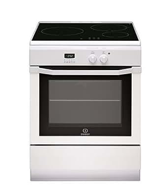 Indesit IC63I6C6A (W) / FR Cuisinière Plaque avec zone à induction A Blanc four et cuisinière - Fours et cuisinières (Cuisinière, Blanc, boutons, Rotatif, Toucher, En haut devant, LED, Plaque avec zone à induction)