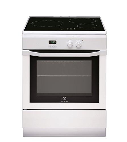 Indesit IC63I6C6A (W) / FR Cuisinière Plaque avec zone à induction A Blanc four et cuisinière - Fours et cuisinières (Cuisinière, Blanc, boutons, Rotatif, Tactil, En haut devant, LED, Plaque avec zone à induction)