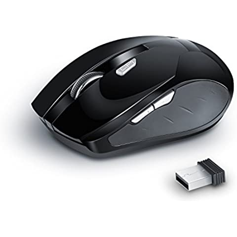 CSL - 1600dpi mouse USB wireless per notebook | design
