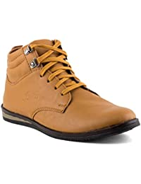 Isole Tan Corporate Casuals Shoes