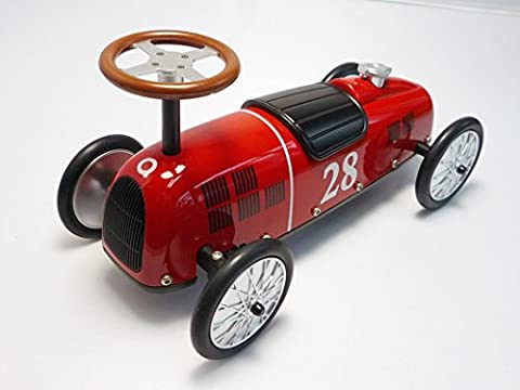100 Goods 16cm Die Cast Mini Ride-on Racer Model By J@skull (Classic Red)