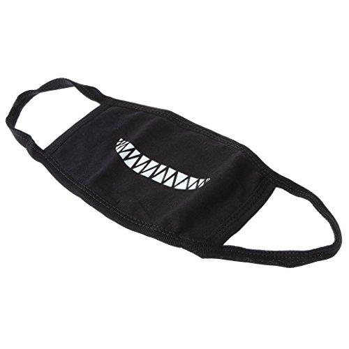 v Leucht Make Mundschutz Mundmaske Cosplay Kostüm Maske - Stil 8 (Jungen Flugzeug Kostüm)