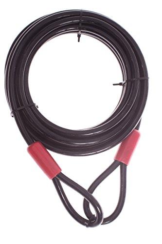 Powerfix® Profi+ Mehrzweck Stahlkabel 2,5m Ø 10mm Sicherung Schloss