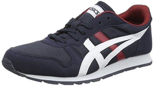 Asics Unisex-erwachsene Temp-racer Sneakers Blau (inchiostro India / Bianco)