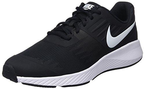 Nike Jungen Star Runner (GS) Laufschuhe, Schwarz (Black/White/Volt 001), 36.5 EU (Kinder Schuhe Training Nike)