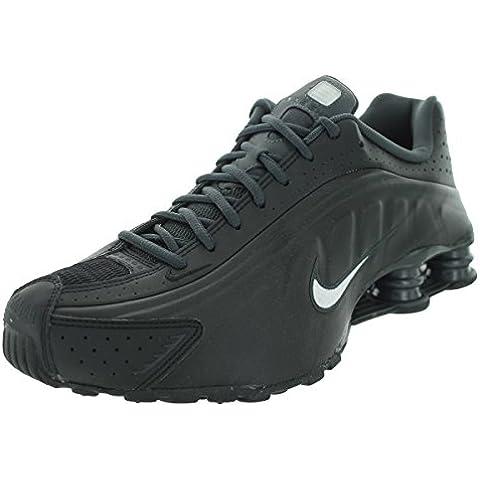 Nike Shox R4, Sneaker uomo Nero nero