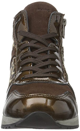 Marc Shoes Raven, Baskets Basses Femme Marron - Braun (Brown-combi 00157)