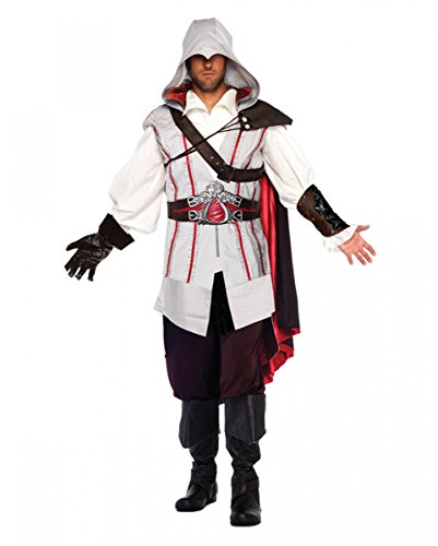 Horror-Shop Ezio Deluxe Assassins Creed II traje S/M