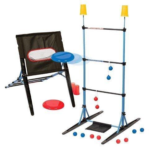 EastPoint Eastpoint Majik 3-in-1 Ladderball/Disc Toss/Target Toss Set