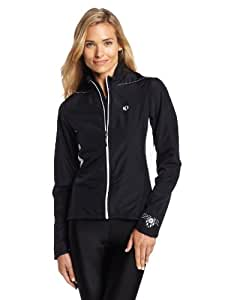 Pearl Izumi Women's Select Thermal Barrier Jacket, Large, Black/Black