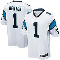 1 Cam Newton Trikot Carolina Panthers Jersey American Football Trikot Mens