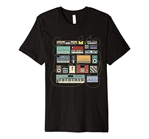 Elektronische Musiker Synthesizer Dj T-shirt T-Shirt