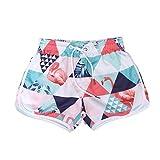 TENDYCOCO Short de Bain pour Femme Beach Boardshorts Pantalon de survêtement Sportif à séchage Rapide pour Gymnase Flamingo...