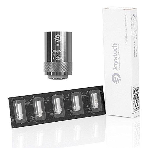 Confezione 5 pz. Resistenza di ricambio per atomizzatore Cubis Joyetech 1,5 ohm SS316 Senza Nicotina Sigaretta Elettronica