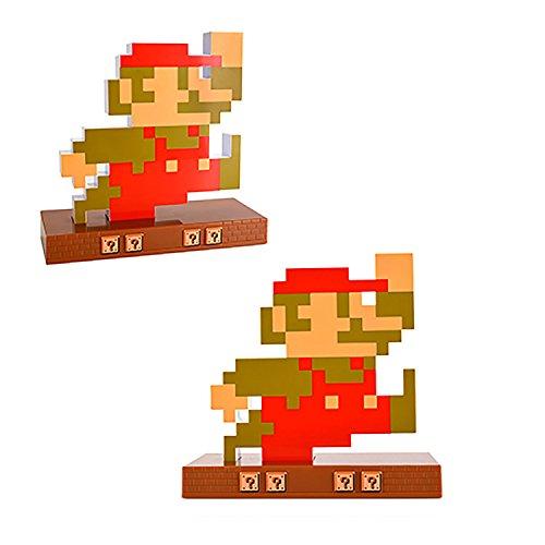Despertador/Reloj Retro Nintendo Super Mario Bros (Mario o Luigi)