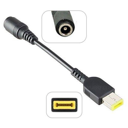 Notebook/Laptop Netzteil/AC Adapter Slim Tip (SlimTip) für LENOVO Helix 2 Generation / Tablet 10 - 5,5 x 2,5 mm auf quadratisch (klein, ohne Pin) -