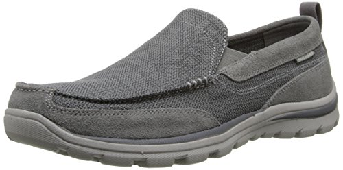 Skechers Superior Milford, Men's Loafers, Gray - Grau (CCGY), 8 UK (42...