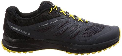 Gleißendes Dunkelviolett Salomon 49 Blau Traillaufschuhe Sense Ombre Blau 3 Herren schwarz Gelb 2 Pro EU w11OZxa