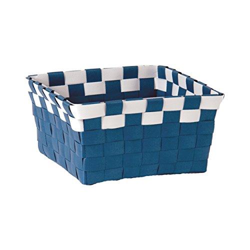 MSV Panier, Bleu foncé/blanc, Unique