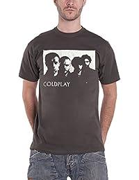 Coldplay T Shirt European Summer Tour Live 2003 offiziell Herren Nue Charcoal
